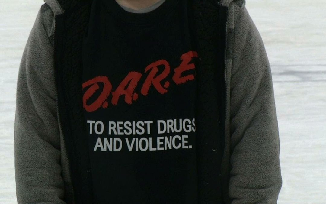 Mesick Elementary Students Graduate from D.A.R.E Program