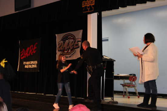 134 Students Graduate from D.A.R.E. Program at South Elementary