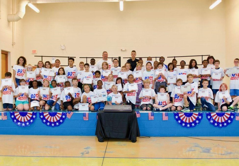 55 Freedom Students Graduate from D.A.R.E. Program