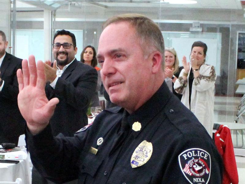 Nixa D.A.R.E. Officer Honored