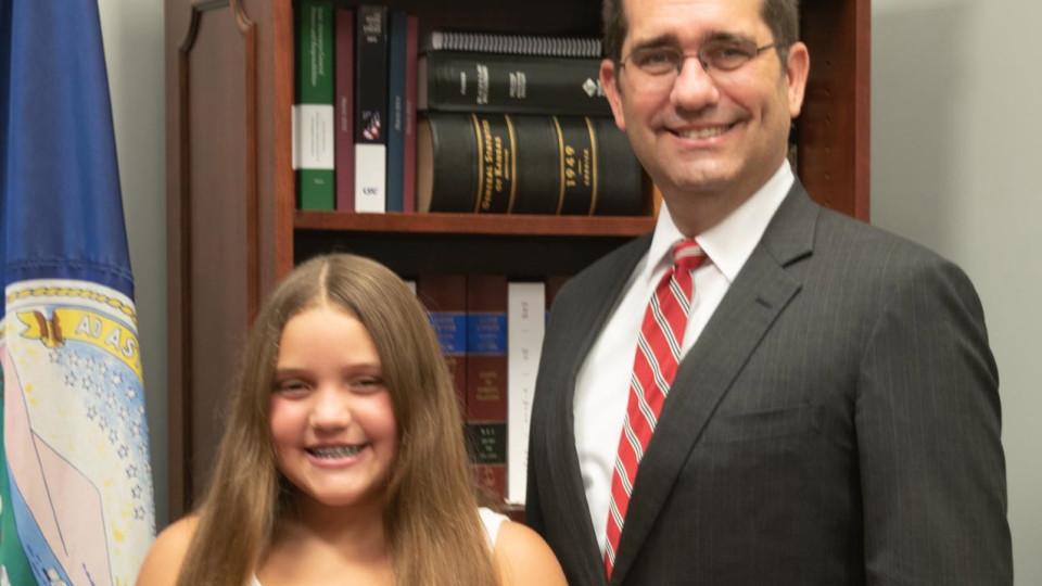 Fifth-Grade Student Wins Kansas D.A.R.E Essay Contest