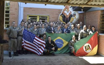 Rio Grande do Sul (Brazil) D.A.R.E. Officer Training Class 2019