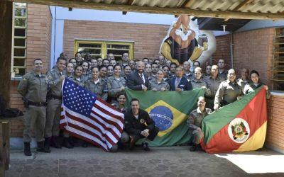 Rio Grande do Sul (Brazil) D.A.R.E. Officer Training Class 2019