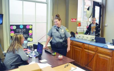 Hively Acts as Enforcer and Liaison Between Students and Cops