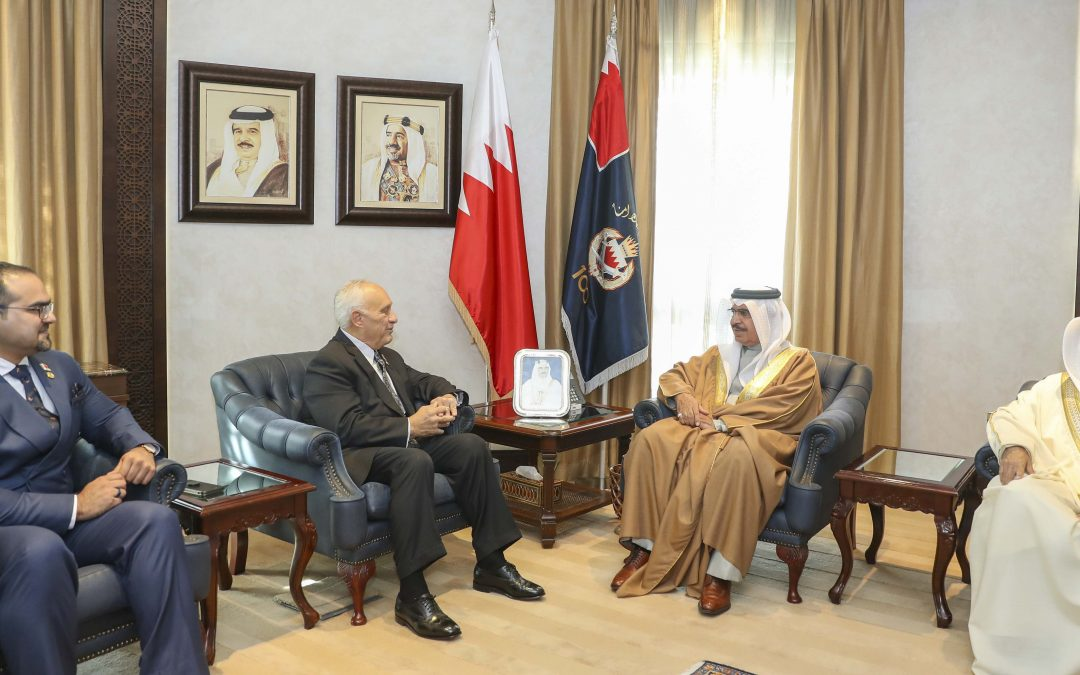HE Interior Minister Receives D.A.R.E International Official