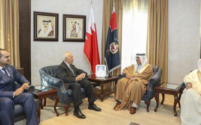 HE Interior Minister Receives D.A.R.E International Official